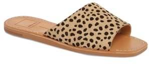 Dolce Vita Cato Genuine Calf Hair Slide Sandal