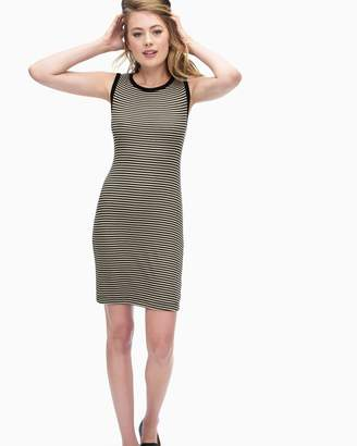 Splendid Striped 2X1 Knot Back Dress