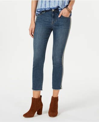 Style&Co. Style & Co Petite Double-Stripe Skinny Jeans