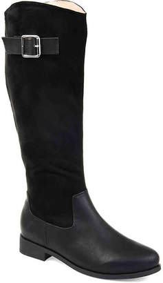 Journee Collection Frenchy Extra Wide Calf Riding Boot - Women's