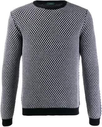 Zanone patterned knit jumper