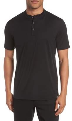 HUGO Daspen Solid Henley T-Shirt