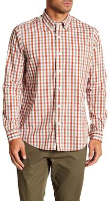 Tailor Vintage Tri-Color Gingham Print Performance Stretch Shirt
