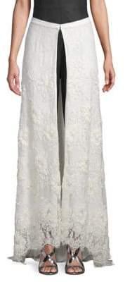 Sarah Jessica Parker Lace Maxi Skirt