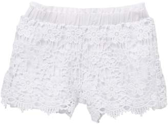 Design History Lace Crochet Shorts (Toddlers & Little Girls)