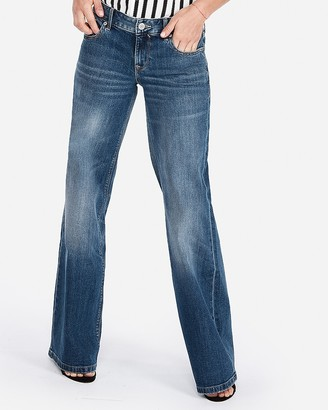 Express Low Rise Wide Leg Original Jeans