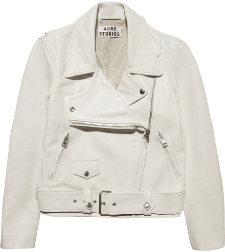 Acne Merci leather biker jacket