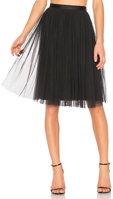 Needle & Thread Tulle Midi Skirt $130 thestylecure.com