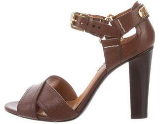 Ralph Lauren Leather Crossover Sandals