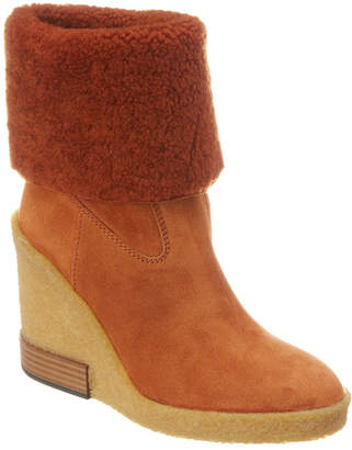 Tod's Foldover Suede Boot