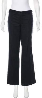 Just Cavalli Mid-Rise Striped Pants