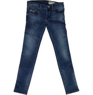 Diesel Girls Skinzee Low Jeans Stone Raw
