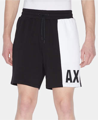Armani Exchange Men Colorblocked Base Shorts
