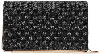 Mina Beaded Evening Bag $195 thestylecure.com