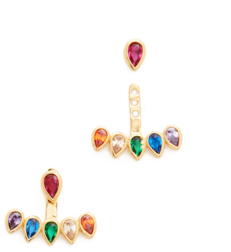 Gorjana Kelsi Ear Jackets $50 thestylecure.com