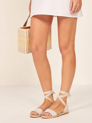 Reformation Lily Espadrille
