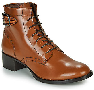 Muratti ABYGAEL women's Low Ankle Boots in Brown