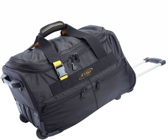 A.Saks Lightweight Expandable 20-inch Carry-OnRolling Upright