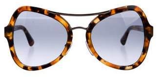 7c572c5e267 Prada Butterfly Gradient Sunglasses
