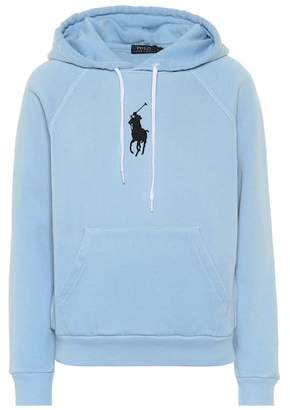 1b8669a3fe5cb Free Shipping! at mytheresa · Polo Ralph Lauren Cotton-blend jersey hoodie