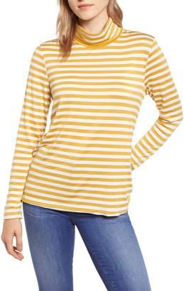 Everleigh Knit Shirttail Turtleneck
