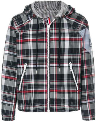 Moncler Gamme Bleu Check Winter Jacket