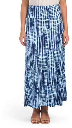 Made In Usa Maxi Tye Dye Skirt