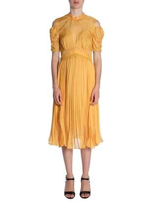 Self-Portrait Self Portrait Pleated Midi Dress