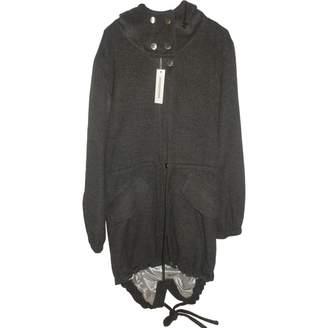 Unconditional Grey Wool Coat for Women