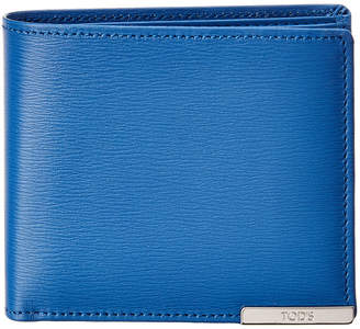 Tod's Coin Pocket Leather Wallet