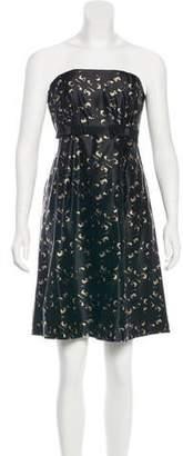 Milly Strapless Mini Dress