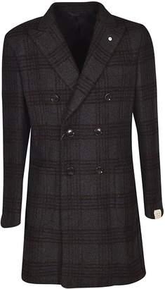 Luigi Bianchi Mantova Double Breasted Coat