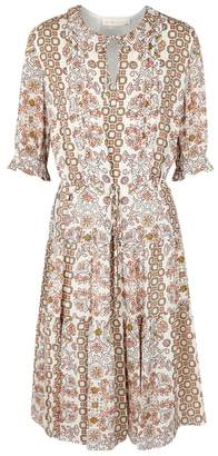 Tory Burch Serena Printed Silk Chiffon Dress