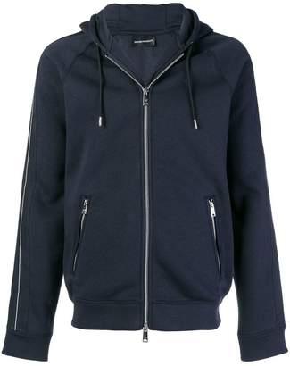 Emporio Armani zipped hoodie