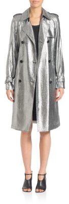 3.1 Phillip Lim3.1 Phillip Lim Metallic Trench Coat