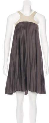 Paul & Joe Pleated Mini Dress