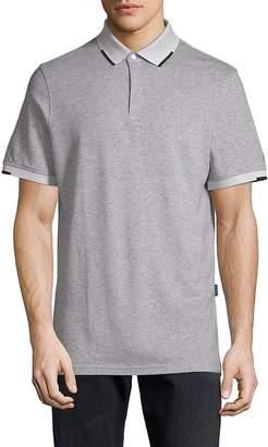 AG Jeans Green Label Men's Short-Sleeve Heathered Polo