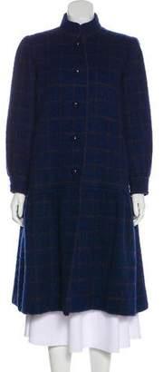 Givenchy Vintage Plaid Coat