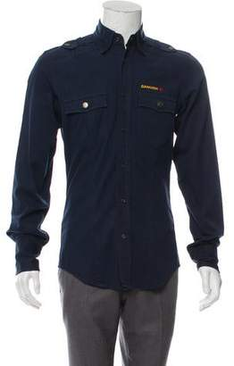 DSQUARED2 Woven Utility Shirt