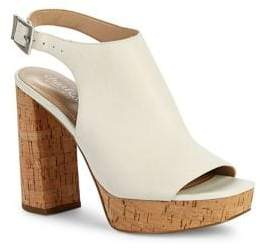Charles by Charles David Imani Buckled Cork Sandals