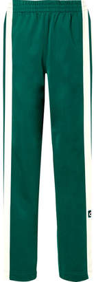 adidas Adibreak Striped Satin-jersey Track Pants - Jade