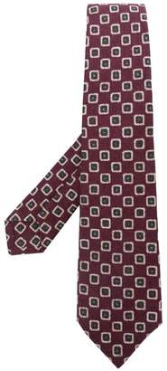 Kiton abstract print tie