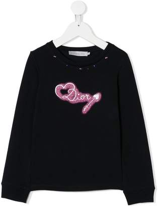 Christian Dior embellished sweatshirt