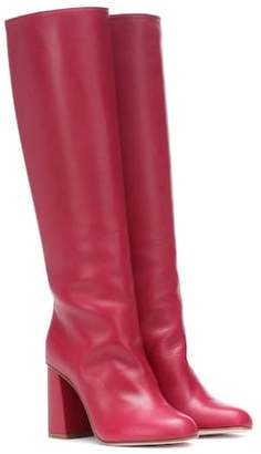 RED Valentino Leather boots