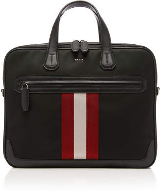 Bally Striped Briefcase
