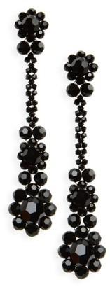 Women's Simone Rocha Crystal Drop Earrings $280 thestylecure.com