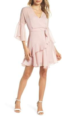 French Connection Hallie Ruffle Dress