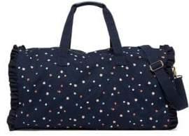 ban.do Getaway Ruffle Dotted Duffel Bag