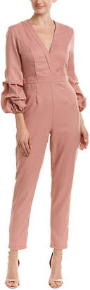 Do & Be DO+BE Do+Be Surplice Jumpsuit