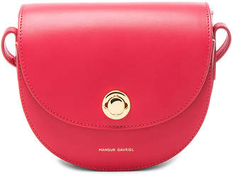 Mansur Gavriel Mini Saddle Bag